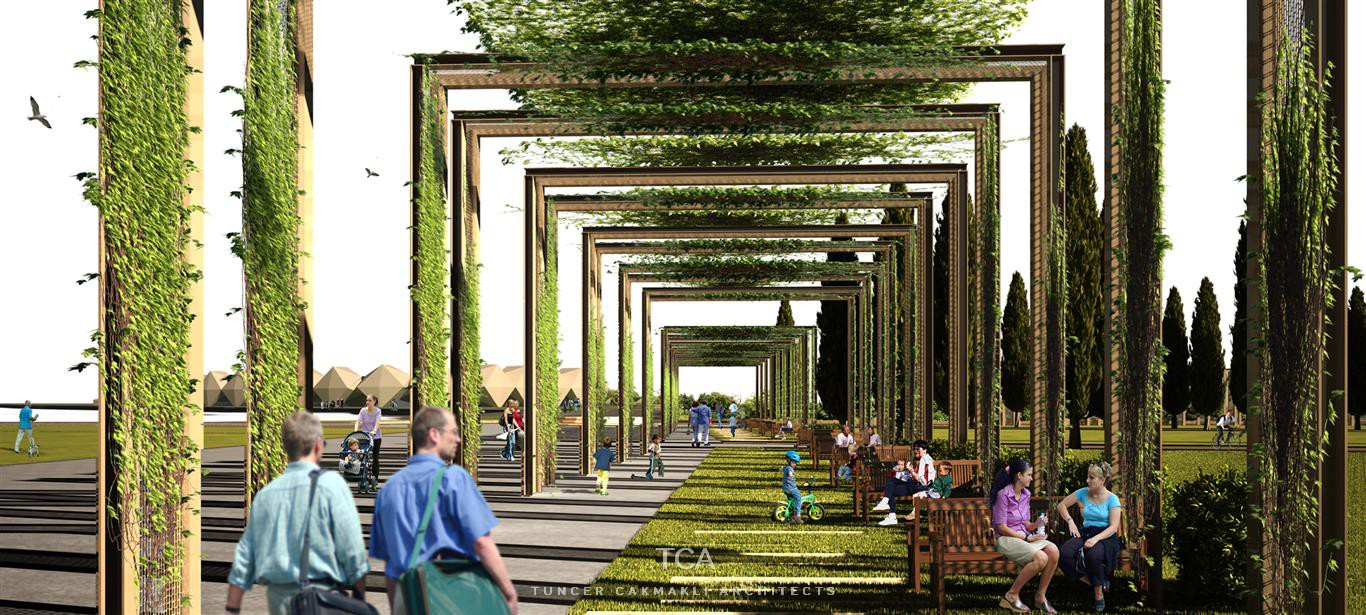 Baku botanic garden and landscape design tca for Botanical garden design